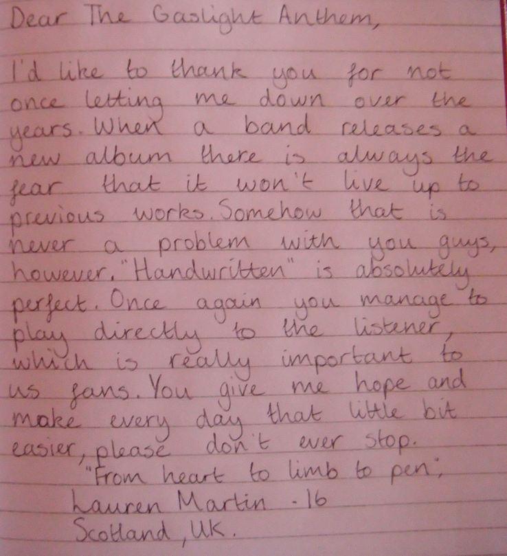 Lauren, 16, Scotland
