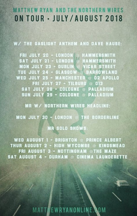 Matthew Ryan Tour Poster